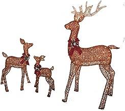 Best christmas deer decorations Reviews