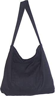 Simple Large Durable Tote Bags with Magnetic Closure and Zippered Inner Pocket Made from 16-ounce Canvas