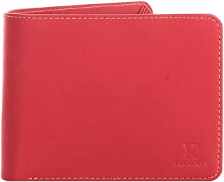 K London Leicester Red Super Slim Men's Wallet (1203_red)