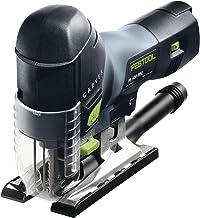 Festool PS 420 EBQ-Plus - Sierra de vaivén pendular, color negro y verde