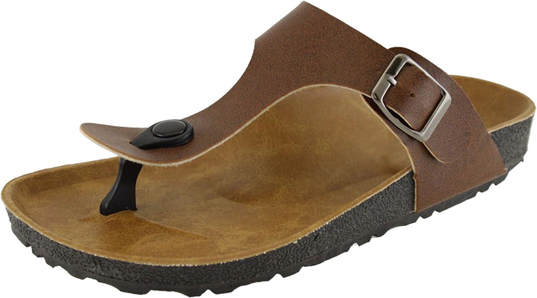 Cambridge Select Women's Thong Slip-On Slide Sandal