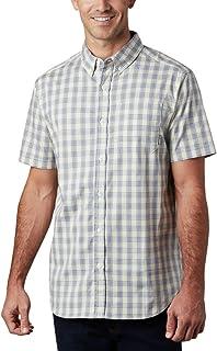 Men's Rapid Rivers II Short Sleeve Plaid Shirt, Comfort...