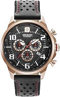 Swiss Military - Reloj Analógico para Hombre de Cuarzo con Correa en Cuero 06-4328.09.007