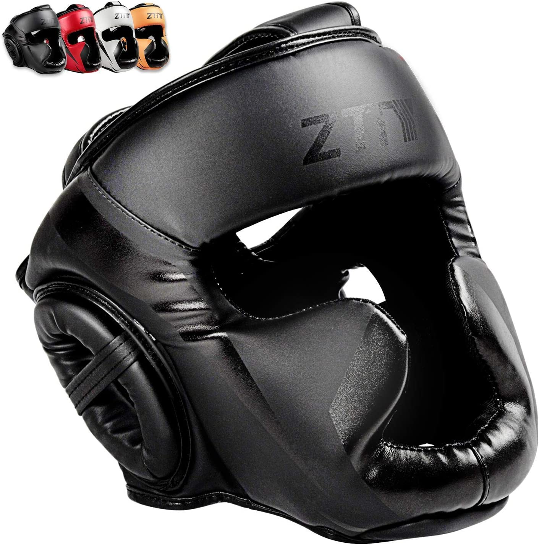ZTTY Boxing Headgear MMA Product Kickboxing Head Guard PU Martial Arts Inexpensive L