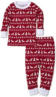 Kissy Kissy - Christmas Deer - Print Pajama Set - Snug Fit