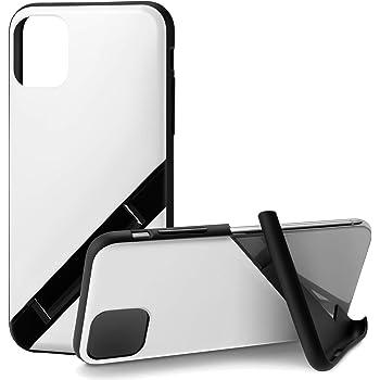カンピーノ campino iPhone 11 ケース OLE stand スタンド機能 耐衝撃 スリム 動画 Qi ワイヤレス充電対応 ホワイト 白 BASIC
