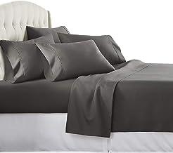 Danjor Linens 4 Piece Hotel Luxury Soft 1800 Series Premium Bed Sheets Set, Deep Pockets, Hypoallergenic, Wrinkle & Fade R...