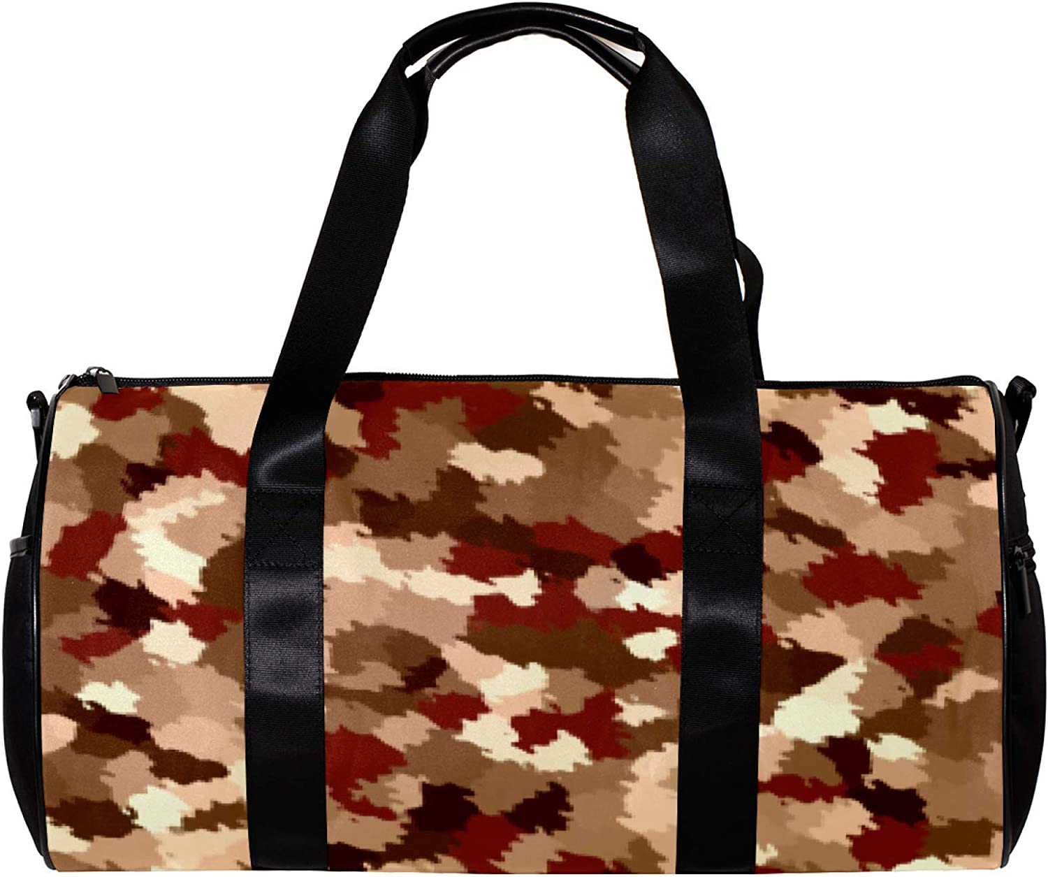 LEVEIS Autumn Maple Shredded Paper Duffel Manufacturer OFFicial shop Tote Travel Sports Tampa Mall Bag