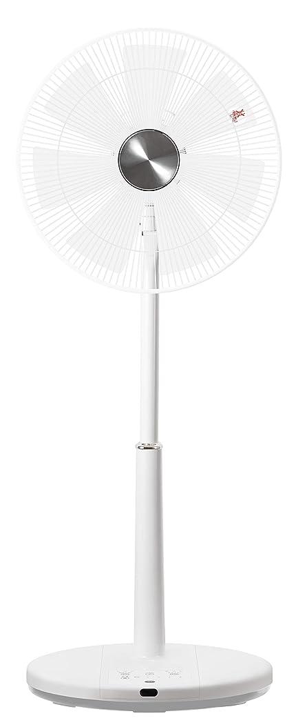 知的無効にする年次山善 扇風機 35cm ハイリビング扇 マイコンスイッチ 風量5段階調節 静音モード DCモーター搭載 タイマー機能 リモコン付き ホワイト YHR-CKD351(W)