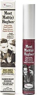 The Balm Meet Matte Hughes Liquid Cosmetics Lipstick - Faithful, 7.4 ml, Little Minx 310