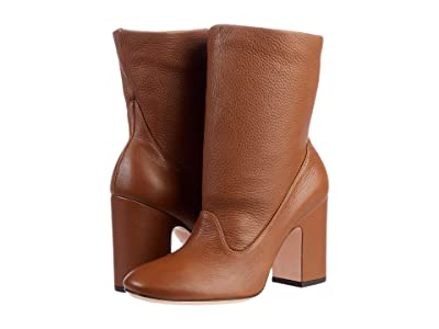 AGL Gem Soft leather Ankle Boot (Cognac) Women