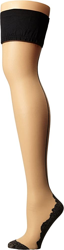 Flirty Backseam Hold Ups