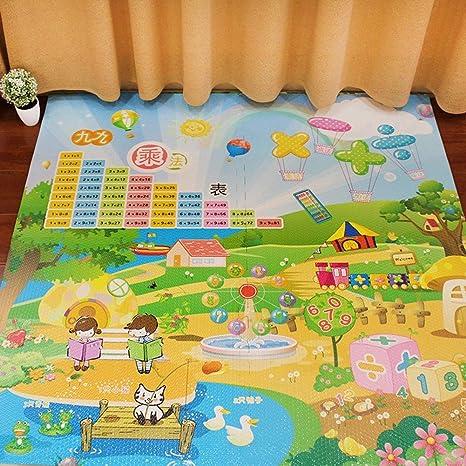 WZHIJUN Alfombrilla de juegos para bebé Puzzle De Colchoneta ...