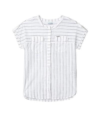 Columbia Camp Henrytm Relaxed Shirt (White Stripe) Women