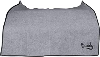 Buddy Pay Dirt Car, Truck, SUV Universal Trunk Mat, Rear Bumper Guard Flap Protector Keeps Your Clothing Clean & Your Rear Bumper Protected | Machine Washable and Waterproof