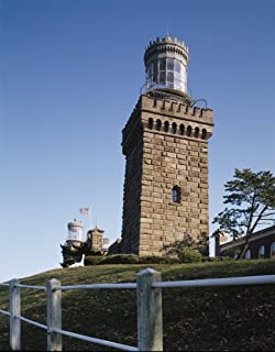 Highlands, NJ Photo - The Navesink Twin Lights is situated 200 feet above sea level in Highlands, NJ - Carol Highsmith