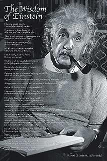 Albert Einstein Poster The Wisdom of Einstein with Accessory Item 61 x 91.5 cm multicoloured by Empire Merchandising GmbH