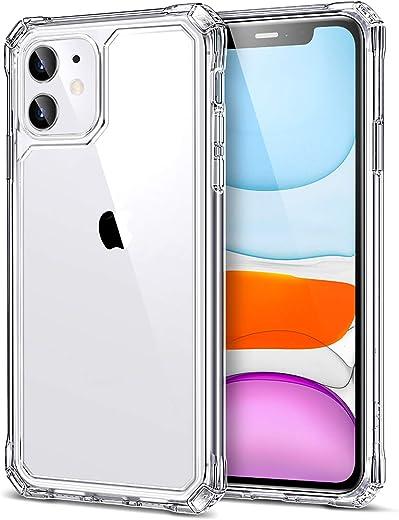 ESR Coque pour iPhone 11 [Angles Renforcés] Refuse-Rayure, Choc-Absorbant, Protection Renforcée [Arrière en PC Rigide + Contour en TPU Flexible]...