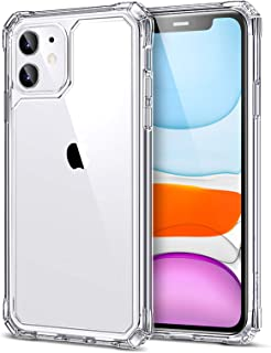 ESR Air Armor Case Compatible with iPhone 11 [Shock-Absorbing] [Scratch Resistant] [Military Grade Protection] Hard PC + Flexible TPU Frame, for 6.1-Inch, Clear