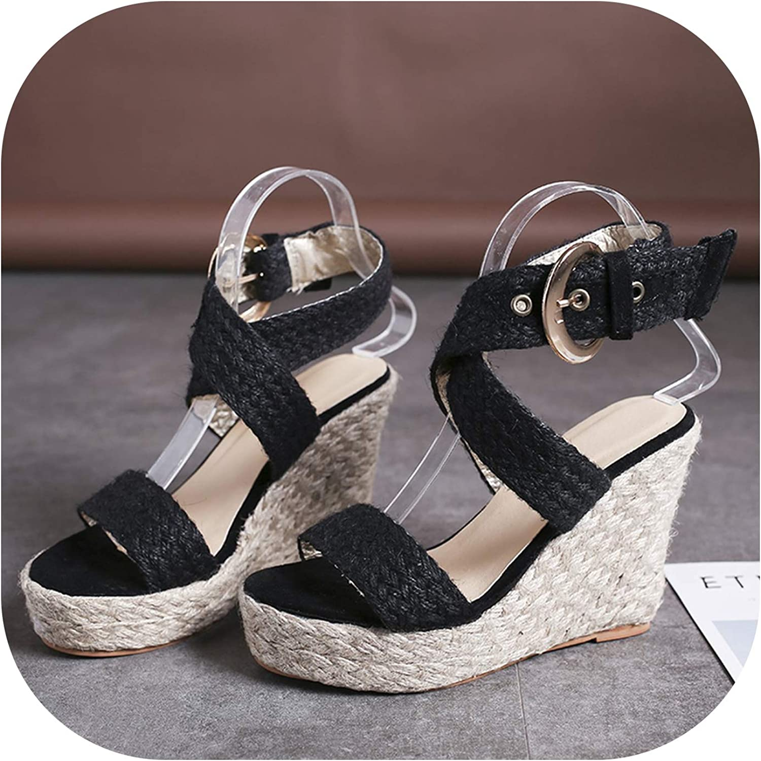 2019 Summer shoes Woman Platform Sandals Wedges shoes for Women Wedge Heels Sandalias
