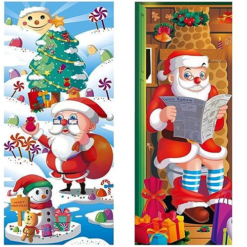 Door Decorations Christmas Amazon Com