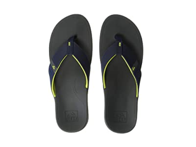 Reef Ortho-Bounce Sport (Navy/Yellow) Men