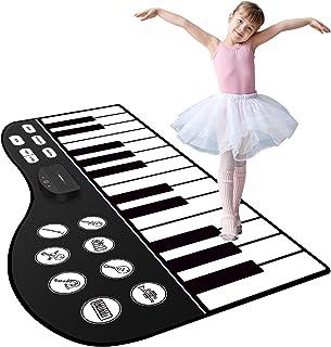 "M SANMERSEN Piano Mat, 71"" Kids Keyboard Mat 24 Keys"