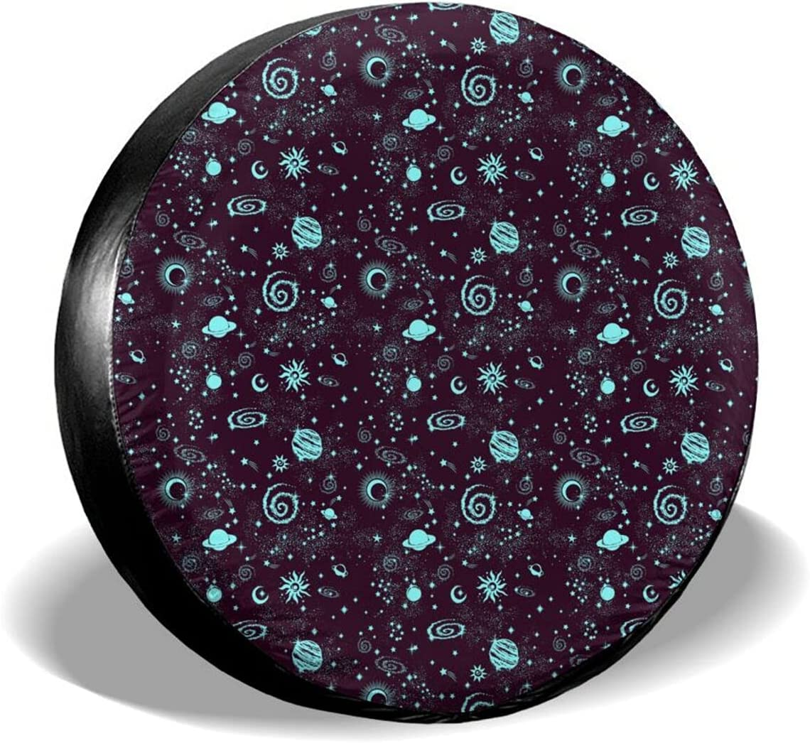 Space Galaxy Universal Spare Tire Wheel Mesa Mall Cover New Free Shipping Weatherproof Prote