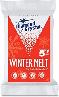 Diamond Crystal Ice Melter Bag Melts Effectively To 5 Degrees F Bagged 10 Lbs.