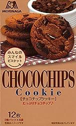 森永製菓 チョコチップクッキー 12枚入