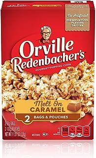 Orville Redenbacher's Melt On Caramel Microwave Popcorn, 11.57 oz, 2 Count (Pack of 12)