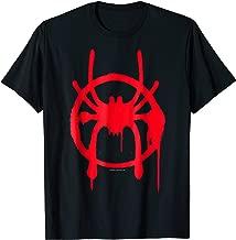 Marvel Spider-Man Spiderverse Miles Symbol Tag T-Shirt