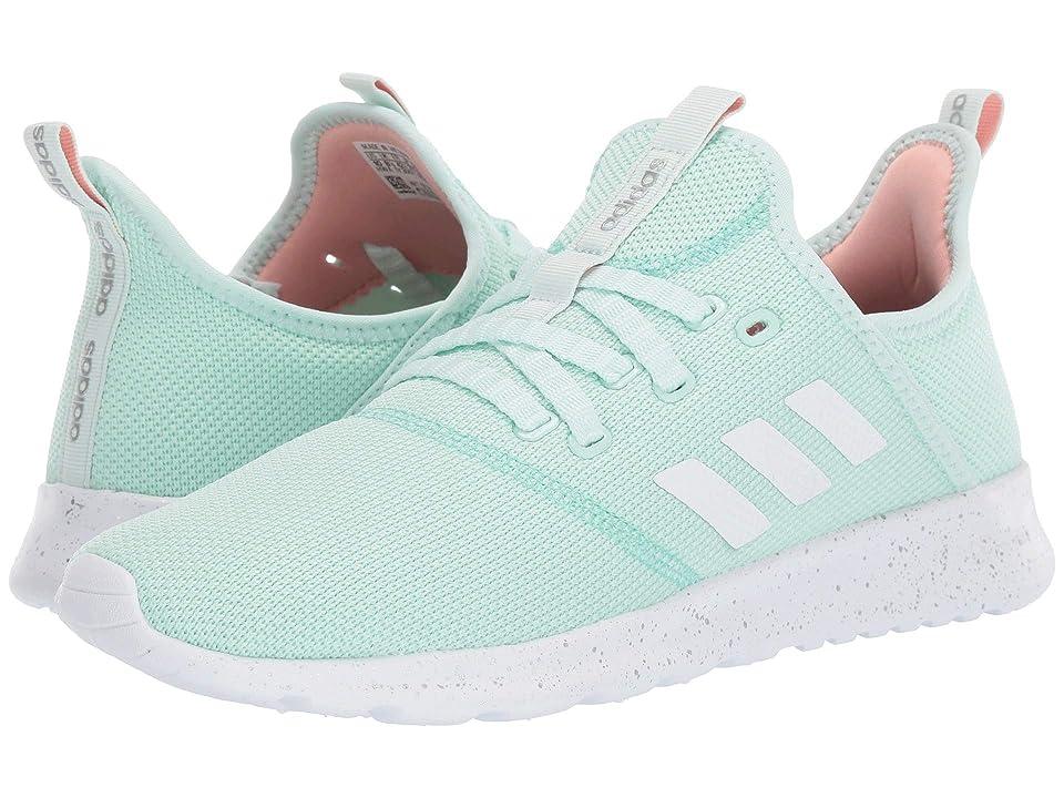 adidas Cloudfoam Pure (Ice Mint/Footwear White/Clear Mint) Women's Shoes, Blue