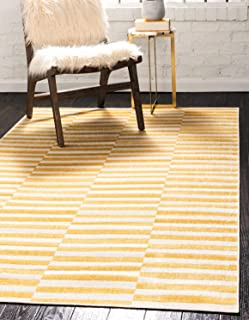 Best yellow striped rug Reviews