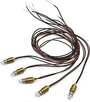 SMD LED-Lampe 10 Stück goldweiß 5-19 V LGB ML-Train 83201030 NEU