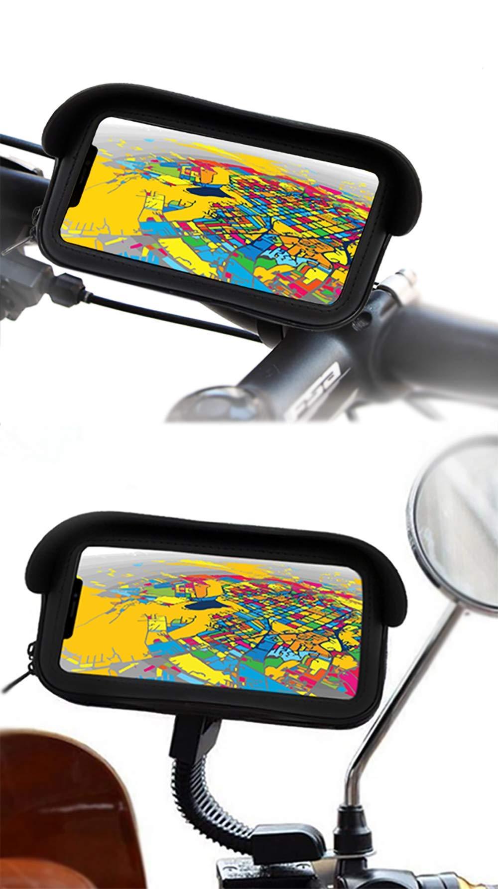 Soporte movil Moto Bici Compatible con Xiaomi Mi Mix 2S Funda ...