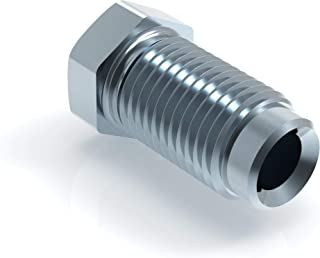 """20 x schroefverbinding 3/8"""" x 24 voor remleiding 4,75 mm flens F type F professionele connector DIN/ISO 1651 conform"""