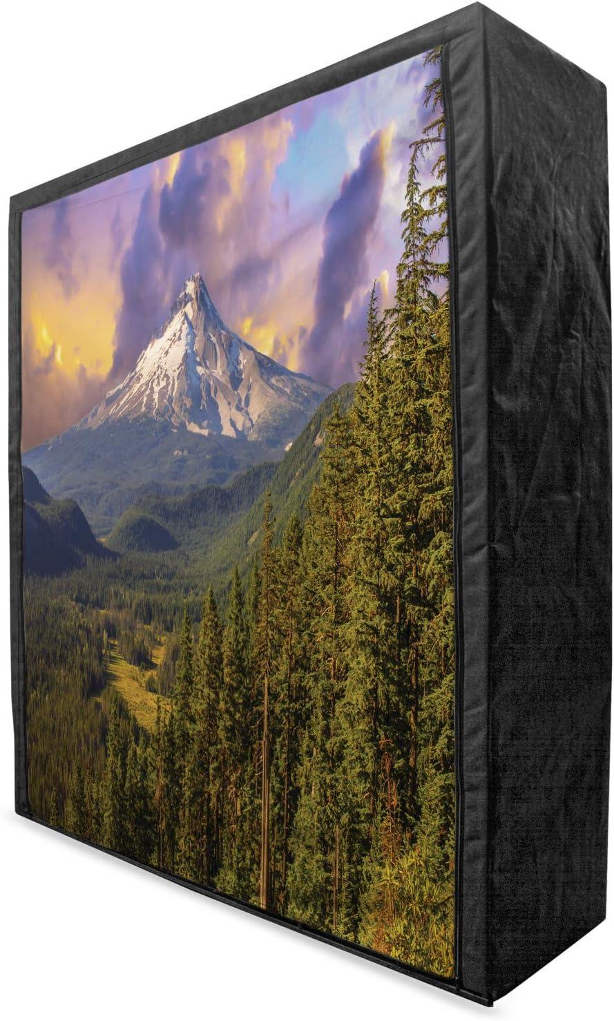 Complete Free Shipping Lunarable Oregon Portable Fabric Wardrobe supreme Hood Majestic Mount N