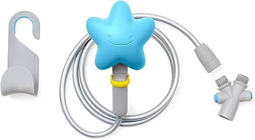Skip Hop Baby Bath Showerhead, Moby, Blue