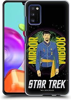 Head Case Designs - Carcasa rígida para Samsung Galaxy S4 (diseño de Star Trek con texto en inglés), compatible con Compatibilité: Samsung Galaxy A41 (2020)