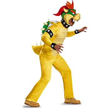 Plus Size Deluxe Bowser Fancy dress costume 2X: Amazon.es ...