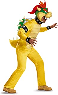 Men's Bowser Deluxe Adult Costume