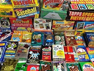 GREAT LOT OF OLD UNOPENED BASEBALL CARDS IN PACKS Look for Hall-of-Famers Such As Cal Ripken, Ken Griffey Jr, Nolan Ryan, Frank Thomas, Don Mattingly , Wade Boggs, George Brett & Tony Gwynn