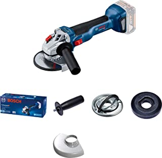 Bosch Professional 18 V system battery angle grinder GWS 18V-10 (disc diameter 125 mm, without batteries and charger, in box)
