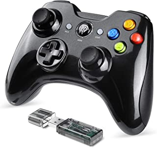 EasySMX Mando Inalámbrico, [Regalos Originales] 2.4GHz Gaming Controller Gamepad Joystick con Doble Vibración, Batería de Litio Juega con 8 Horas para PS3 / PC/Android Phones/Tablets/TV Box
