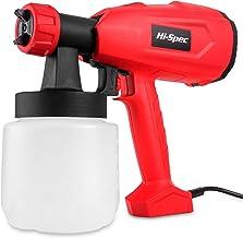 Hi-Spec 2.2A Electric Paint Spray HVLP Gun with 27fl.oz. Paint Holder for Applying Paint,..
