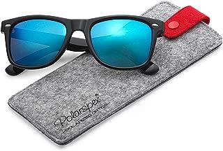 Polarized 80's Retro Classic Trendy Stylish Sunglasses for Men Women