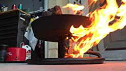 Amazon Com Camco 58031 Little Red Campfire Compact Outdoor Portable Tabletop Propane Heater Fire Pit Bowl For Camping Tailgating And Patios 11 25 Inch Garden Outdoor