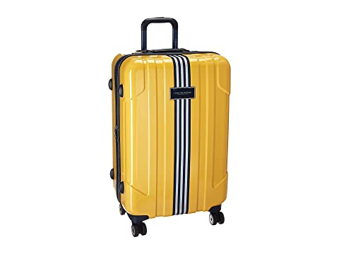 "Reji Stripe 24"" Upright Suitcase, YELLOW"
