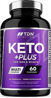 Keto Pastillas para adelgazar - Suministro para 1 mes - Aceite MCT y Té Verde Más Vitaminas y Minerales – Hecho en UK - Contribuye al Metabolismo